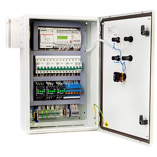 Щиты управления приточной вентиляцией с электрическим нагревателем