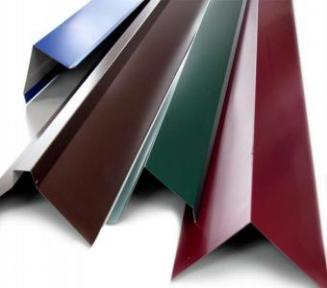Доборные элементы с полимерным покрытием