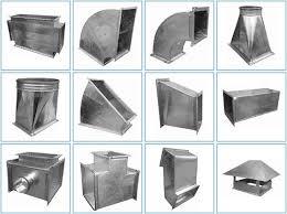 Прямоугольные фасонные элементы