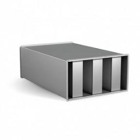 Шумоглушитель прямоугольный ГП 100х40-100