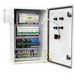 Щит управления приточной вентиляцией с электрическим нагревателем ABUm-E1-0,75-6