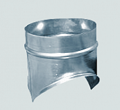 Врезка-седло круглого сечения ф400/ф125