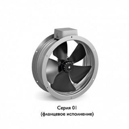 Вентилятор осевой ВО 630-6Е-01